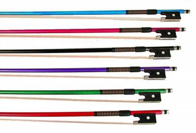 P H Self Hairing Fiberglass Colored Viola Bow Symphony Supply