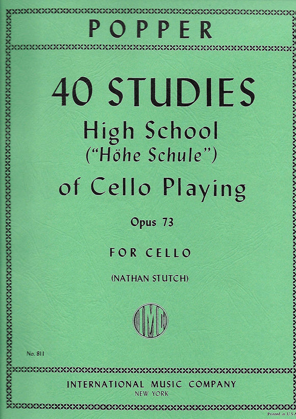 Popper-40-Studies-High-School-of-Cello-Playing-Op.73