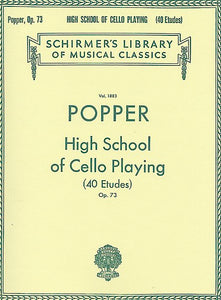 Popper High School of Cello Playing 40 Etudes Op.73