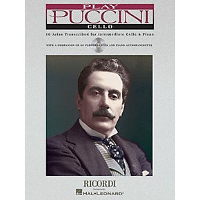 Puccini-10-Arias-Transcribed-Cello-Music