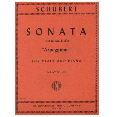Schubert-Sonata-in-A-Minor-D.-821-