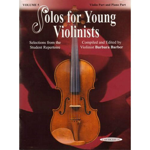 Solos for Young Violinists Volume 5