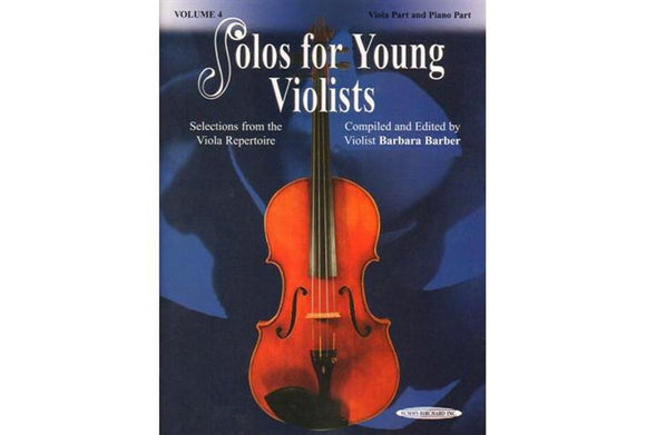 Solos-for-Young-Violists-Vol.4