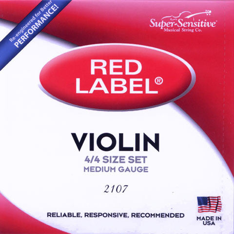 Strings-Super-Sensitive-Red-Label-Violin