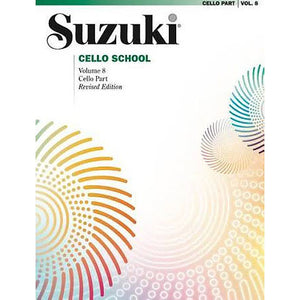 Suzuki-Cello-School-Volume-8