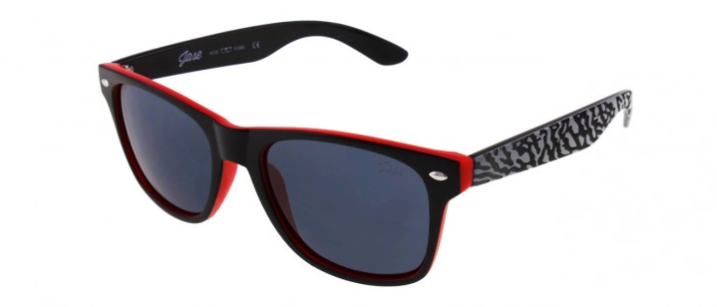 Encore Black Cement Sunglasses by Jase NY