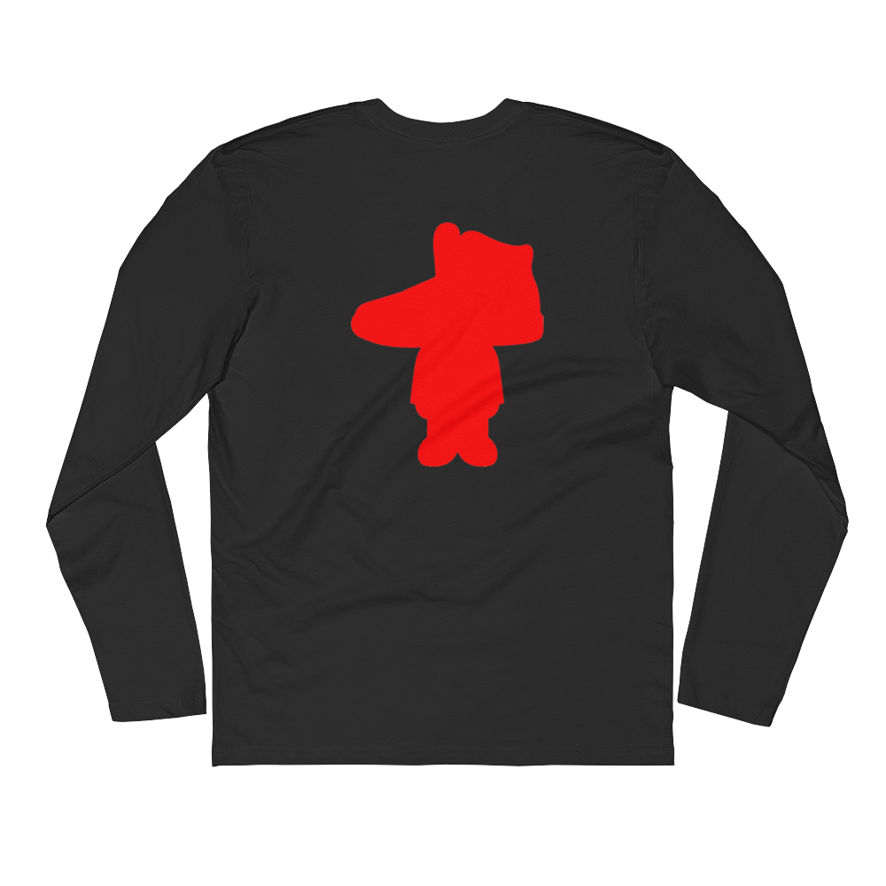 The Jordan Head Long Sleeve Fitted Tee