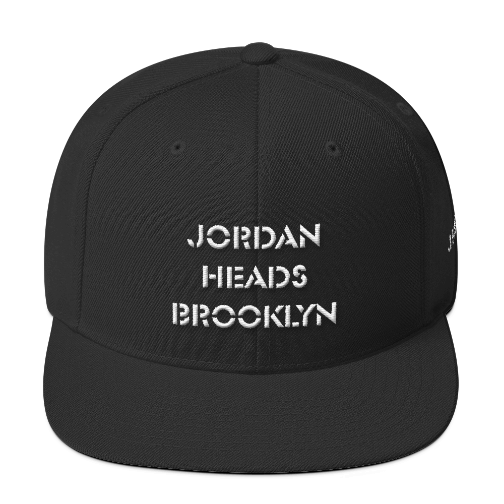 Jordan Heads Brooklyn Stencil Snapback