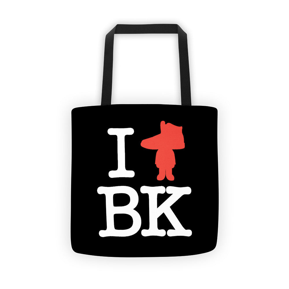 I Heart BK Tote bag
