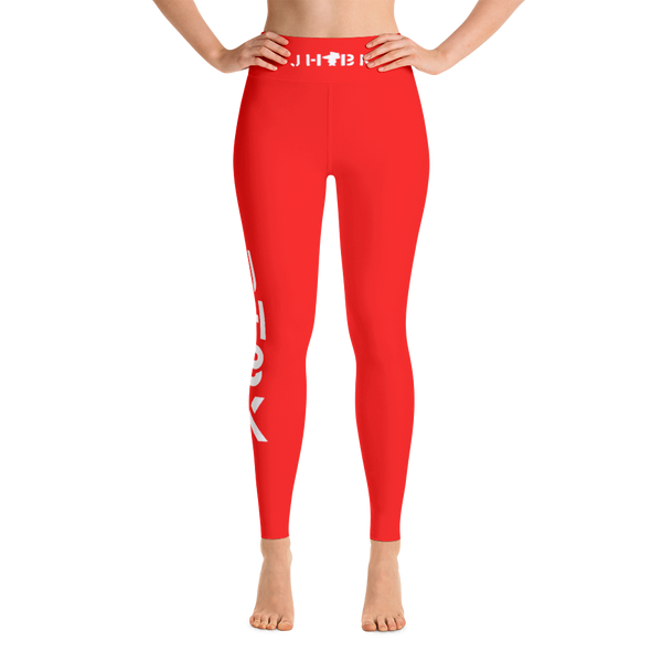 JHBK Red Yoga Pants