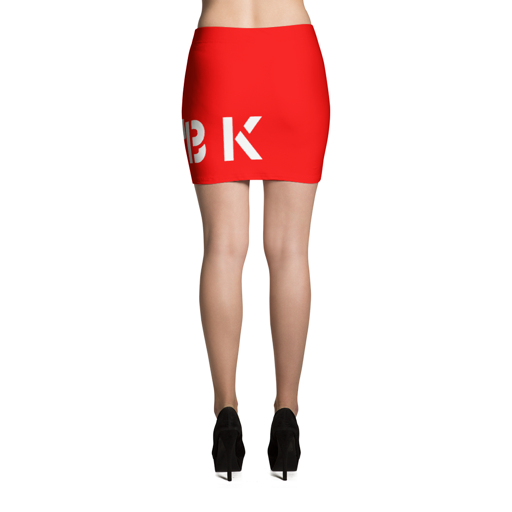 JHBK Red Mini Skirt
