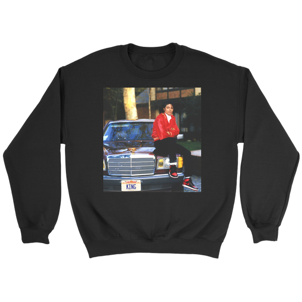 King Crewneck Sweatshirt