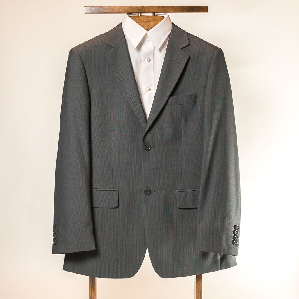 Charcoal 2 Button Slim Andre Bini Suit
