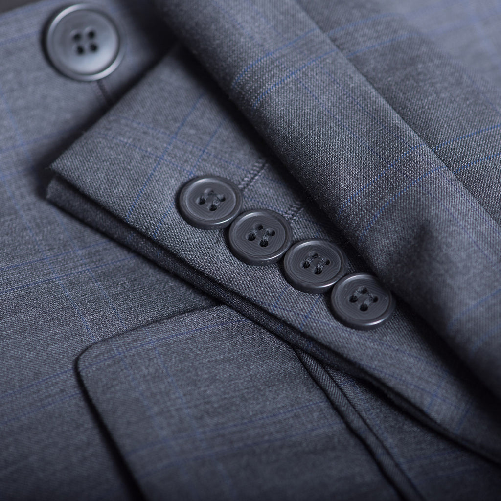 Dark Grey New Bari Modotti Suit