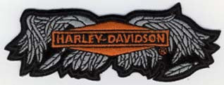 Wings Harley Patch 25cm