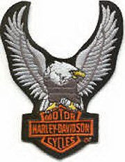 Harley Eagle Patch 7cm - rodehawg