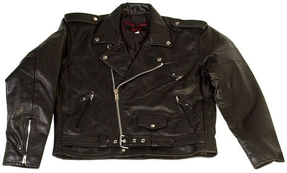 Just a Damn Jacket from Kerr Leathers Made in the USA - rodehawg