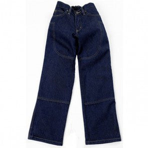 09710c21225 Draggin Jeans kids Size 26 Blue Denim Kevlar Lined Motorbike Trousers -  rodehawg