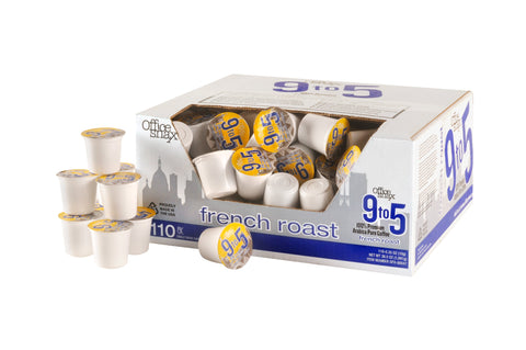 Office Snax 9-5 K-Cup French Roast - (110) cups/case