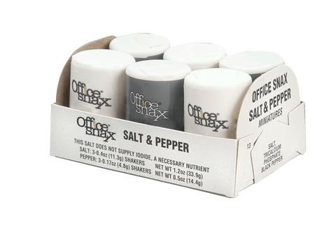 Mini Salt & Pepper Shakers - (24) 6pks/case