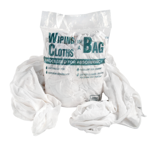 Wiping Cloths - (12) 1 lb bags/case