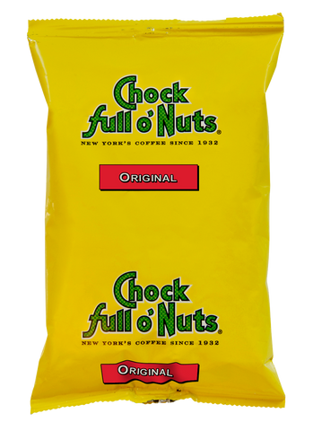 Chock full o'Nuts Original Coffee - (42) 1.75 oz pkts/case