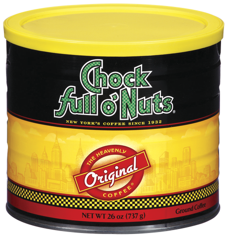 Chock full o'Nuts - (6) 26 oz cans/case