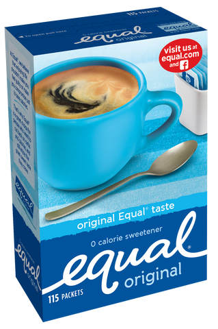 Equal Packets 1 gr - (12) 115 pc boxes/case