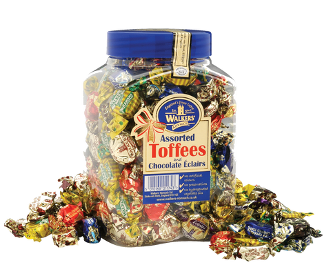 Walker's Assorted Toffee - (7) 2.75 lb tubs/case