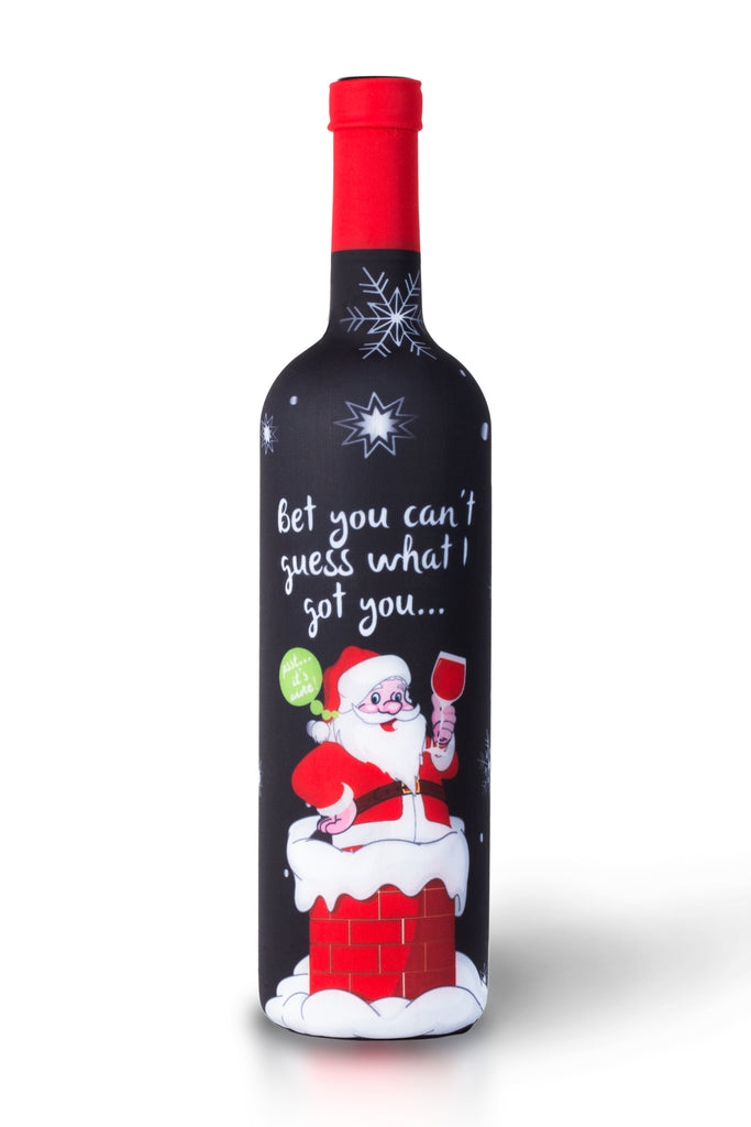 Christmas Wine.Tipsy Christmas Wine Bottle Covers 3 Pack The Perfect Holiday Gift