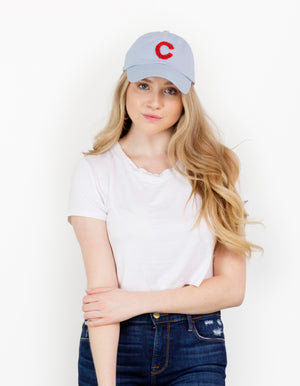 Chicago Sequin Baseball Hat