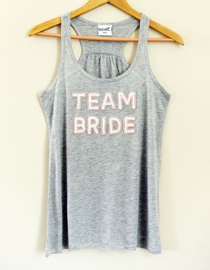 Team Bride Tank - Gray