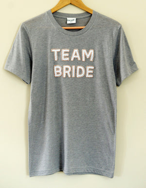 Team Bride T-Shirt - Gray