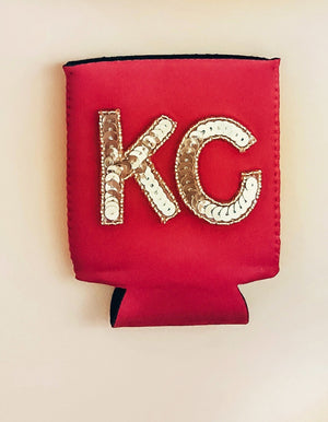 KC Sequin Koozie