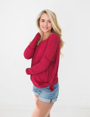 Ada Top in Red