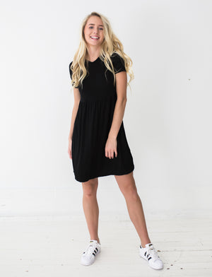 Frances Dress in Black