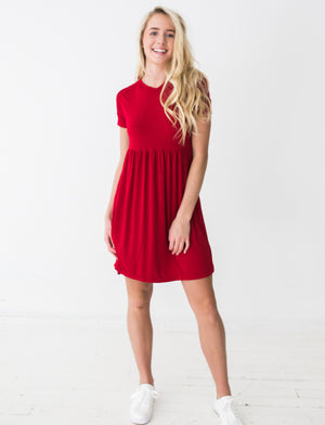 Frances Dress in Red