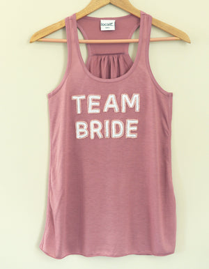 Team Bride Tank - Mauve