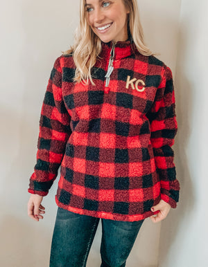 KC Sequin Sherpa