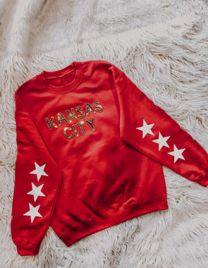 Star Sequin Kansas City Sweatshirt