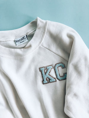 Cropped KC Patch Sweatshirt
