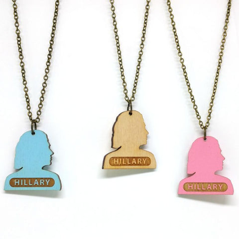 Necklace - Hillary Silhouette Necklace