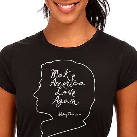 Shirt - She'll Make America Love Again Tee Shirt