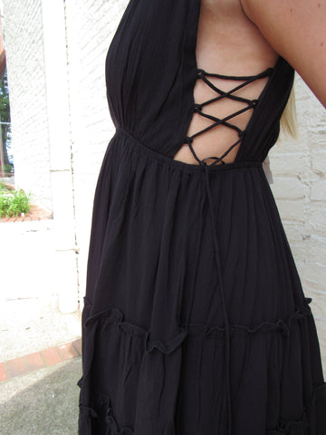Always With You Dress- Black