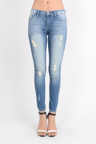 Lightly Distressed Jeans