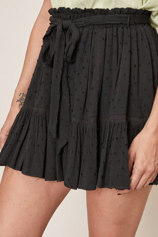 Keep Going Skirt- Black