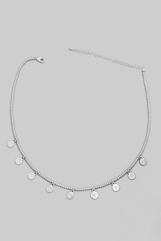 Leah Necklace- Silver