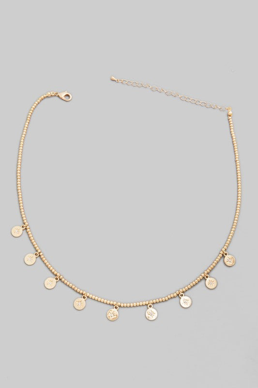 Leah Necklace- Gold