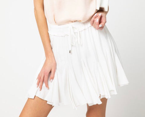 Could You Tell Skirt White