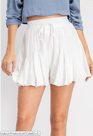 Follow Me Skort - White